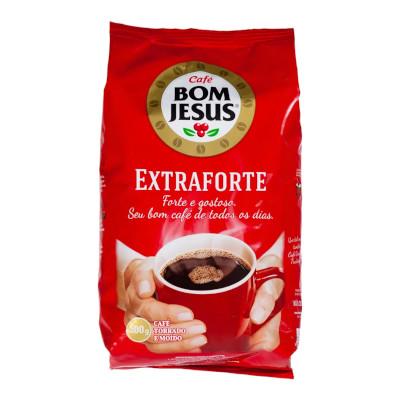 Café torrado e moído extra forte (em pó) 500g Bom Jesus almofada UN