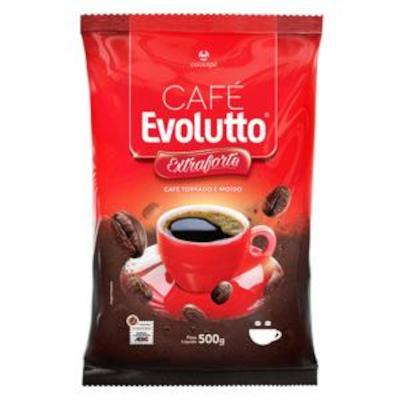 Café Torrado e Moído Extra Forte (em pó) 500g Evolutto almofada UN