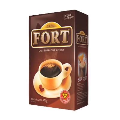 Café torrado e moído forte (em pó) 500g 3 Corações vácuo UN