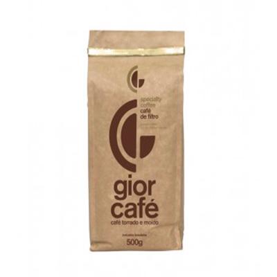 Café torrado e moído gourmet (em pó) 500g Gior Café almofada UN