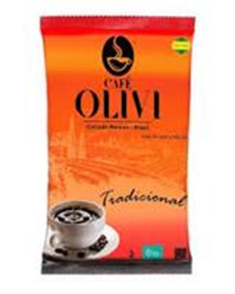 Café torrado e moído tradicional 500g Olivi almofada UN
