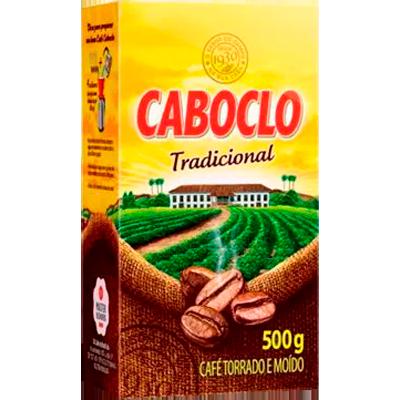 Café torrado e moído tradicional (em pó) 500g Caboclo vácuo UN