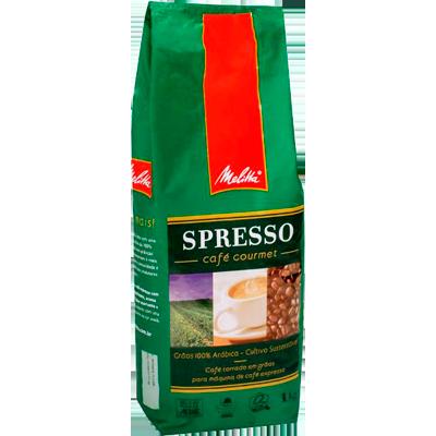 Café torrado em grãos gourmet 1kg Melitta/Spresso almofada UN