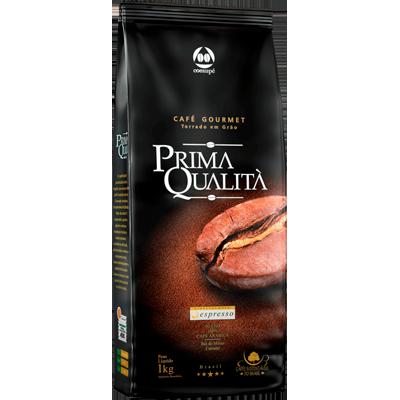 Café torrado em grãos gourmet 1kg Prima Qualitá pouch UN