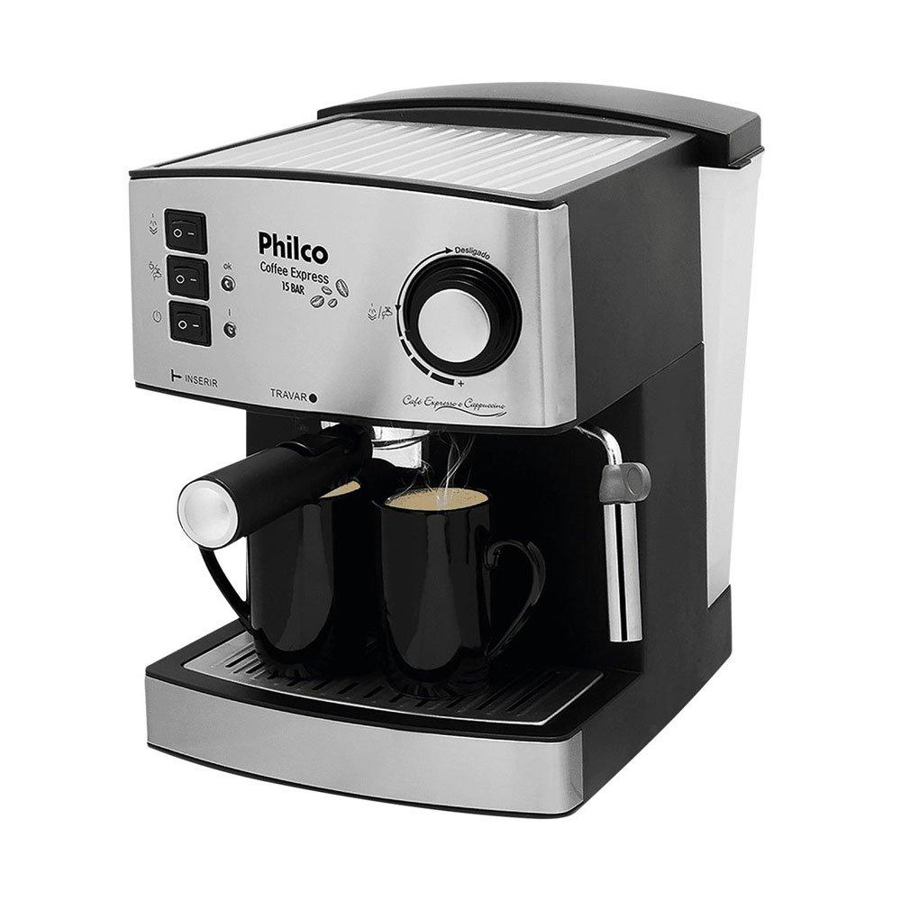Cafeteira Expresso Coffee Express 15 BAR Inox 110v unidade Philco  UN