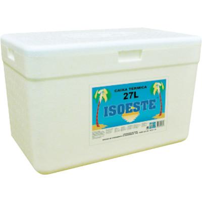 Caixa de isopor Térmica 27 Litros unidade Isoeste  UN