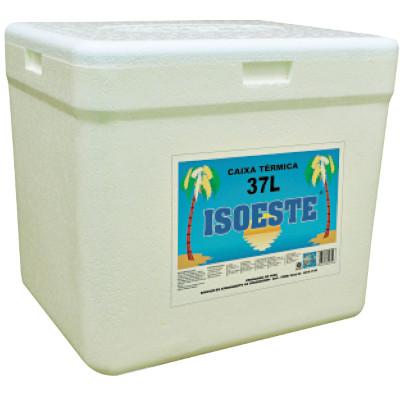 Caixa de isopor Térmica 37 Litros unidade Isoeste  UN