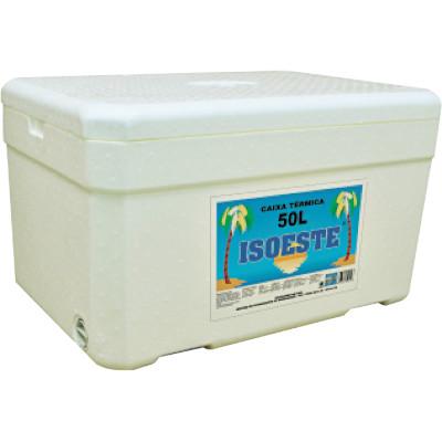 Caixa de isopor Térmica 50 Litros unidade Isoeste  UN
