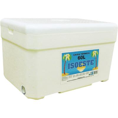 Caixa de isopor Térmica 60 Litros unidade Isoeste  UN