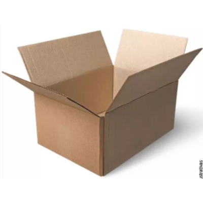 Caixa de Papelão Reciclada 300x200x200 10 unidades Caue pacote PCT