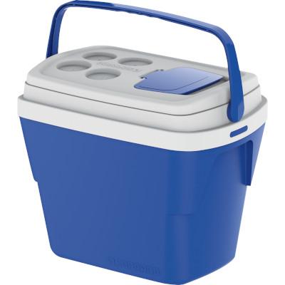 Caixa Térmica Azul 28Litros Soprano unidade UN