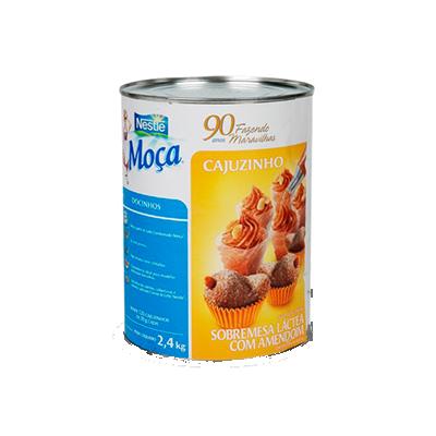 Cajuzinho pronto para consumo 2,4kg Nestlé lata UN