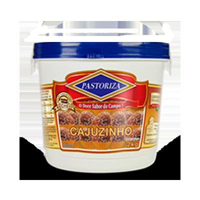 Cajuzinho pronto para consumo 2kg Pastoriza balde UN
