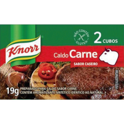 Caldo de Carne  19g Knorr caixa CX
