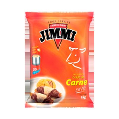 Caldo de Carne  1Kg Jimmi pacote PCT