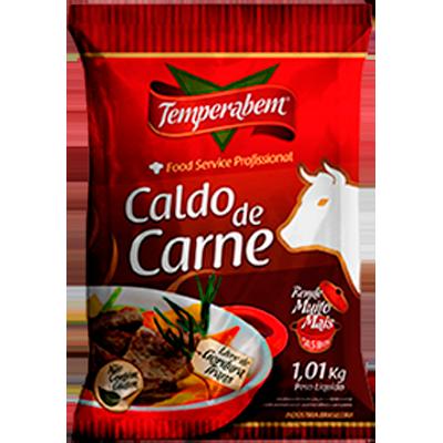 Caldo de Carne  1,01Kg Temperabem pacote PCT