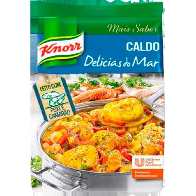 Caldo de Frutos do Mar delicias do mar 1,01kg Knorr pacote PCT