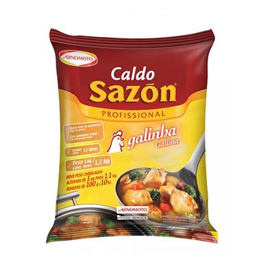 Caldo de Galinha  1,1kg Sazon pacote PCT