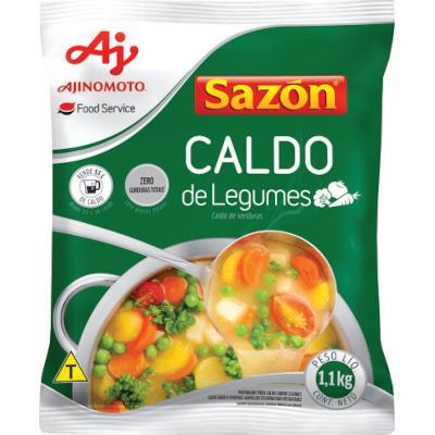 Caldo de Legumes  1,1kg Sazon pacote PCT