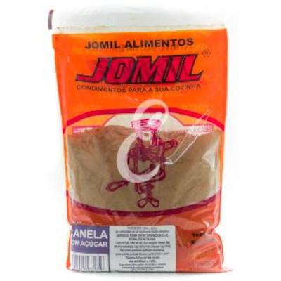 Canela em pó com açúcar 500g Jomil pacote PCT