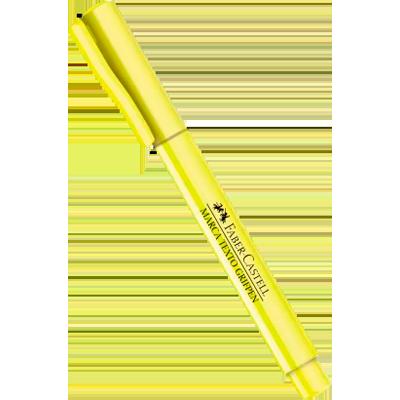 Caneta marca texto amarelo unidade Faber Castell  UN
