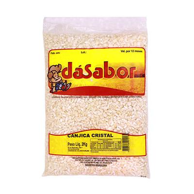Canjica de milho 2kg DáSabor pacote PCT