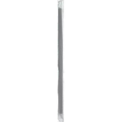 Canudo descartável embalado para milk shake preto 500 unidades Bicão pacote PCT