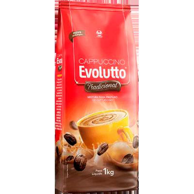 Cappuccino  1kg Evolutto pacote PCT