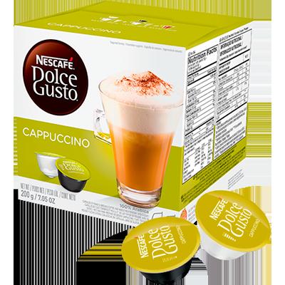 Cápsulas de Café Cappuccino 16 unidades de 12,5g Dolce Gusto/Nescafé caixa CX