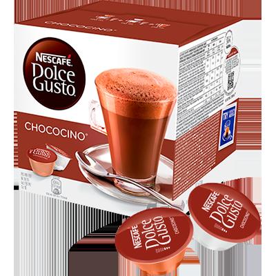 Cápsulas de Café Choccocino 16 unidades de 16,8g Dolce Gusto/Nescafé caixa CX