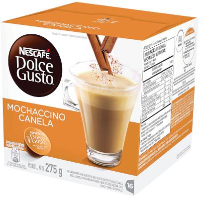 Cápsulas de Café Mochaccino 16 unidades de 17,2g Dolce Gusto/Nescafé caixa CX