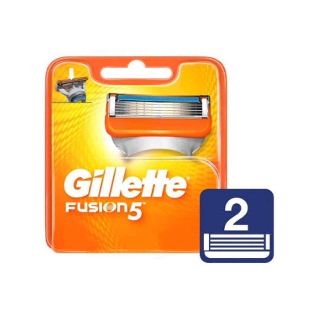 Carga para Aparelho de Barbear Fusion 5 Laranja 02 unidades Gillette caixa CX