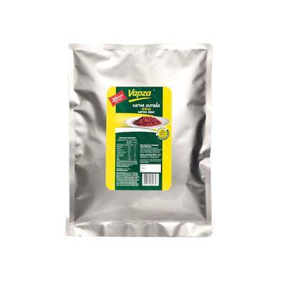 Carne Bovina Curada Cozida e Desfiada 400g Vapza pacote UN