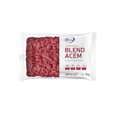 Carne Moída de 2ª congelada 1kg Alfama pacote PCT
