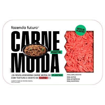 Carne Moída vegana congelada 450g Fazenda Futuro  UN
