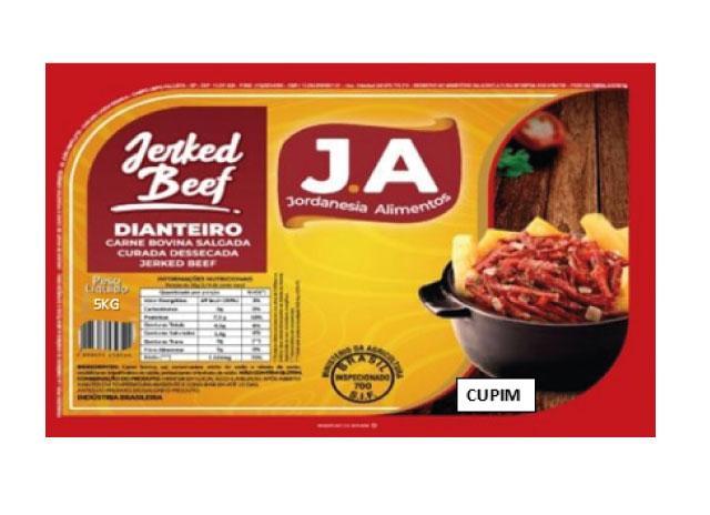 Carne Seca Cupim por kg J.A  KG