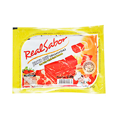 Carne Seca dianteiro 1kg Real Sabor pacote PCT