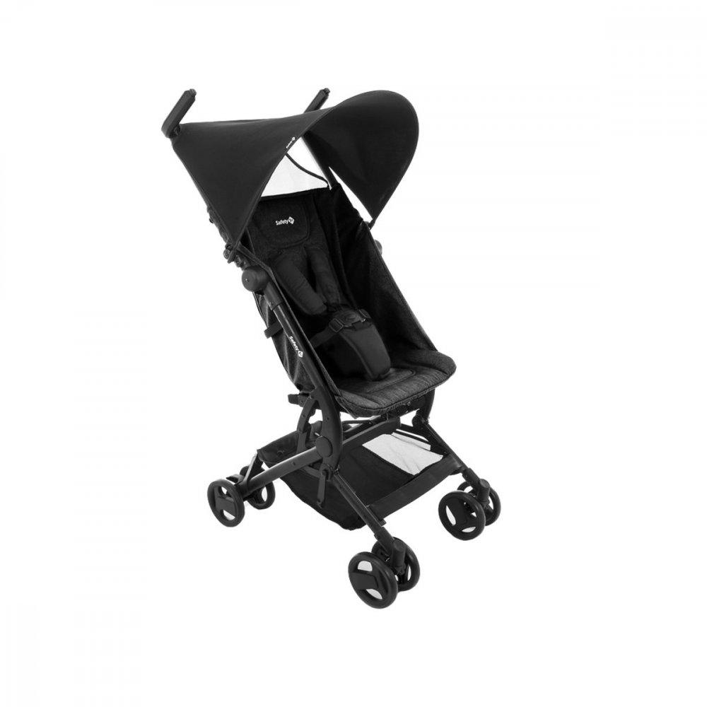 Carrinho de Bebê compacto 4 Rodas Suporta até 15Kg Preto unidade Safety 1st  UN