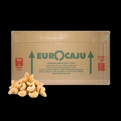 Castanha de Cajú Torrada e Salgada Tipo SLW1 por kg Diversas a granel KG