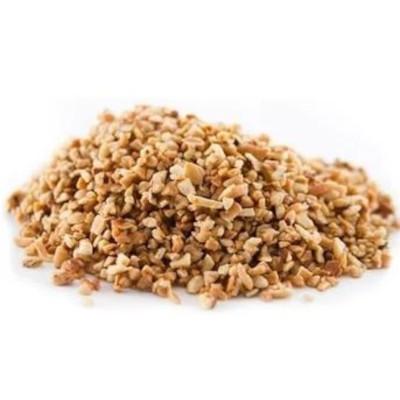 Castanha de Cajú triturada xerém por kg Empório Gênova a granel KG