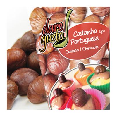 Castanha Portuguesa  80g Daregusto pacote UN