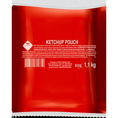 Ketchup Tradicional 1,1kg Junior bag BAG