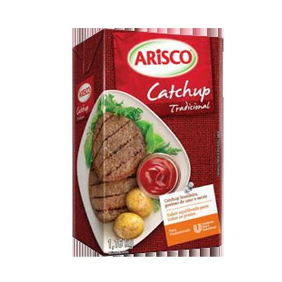 Ketchup Tradicional 1,16kg Arisco tetra pak UN