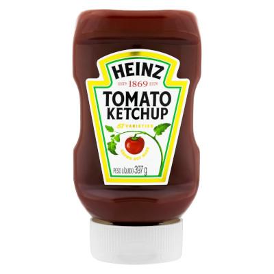 Ketchup Tradicional 397g Heinz frasco UN