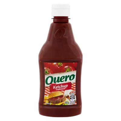 Ketchup Tradicional 400g Quero frasco UN