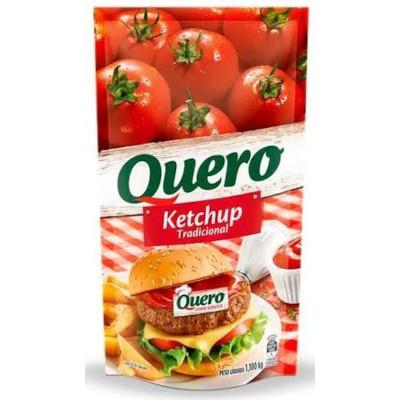 Ketchup Tradicional 1,10kg Quero sachê UN