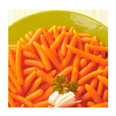 Cenoura baby congelada 2,5kg Daucy pacote PCT