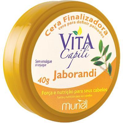 Cera Finalizadora para Cabelos jaborandi 40g Vita Capili/Muriel  UN