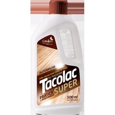 Cera líquida para todos os tipos de madeira 500ml Tacolac frasco FR