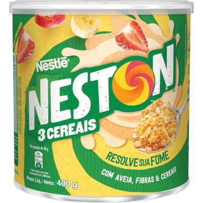 Cereal Infantil sabor 3 cereais 400g Nestlé/Neston lata LT